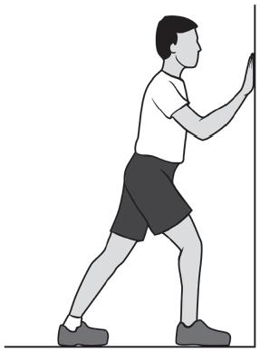 heel cord stretch